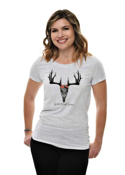 Horns n Roses Tee - front view