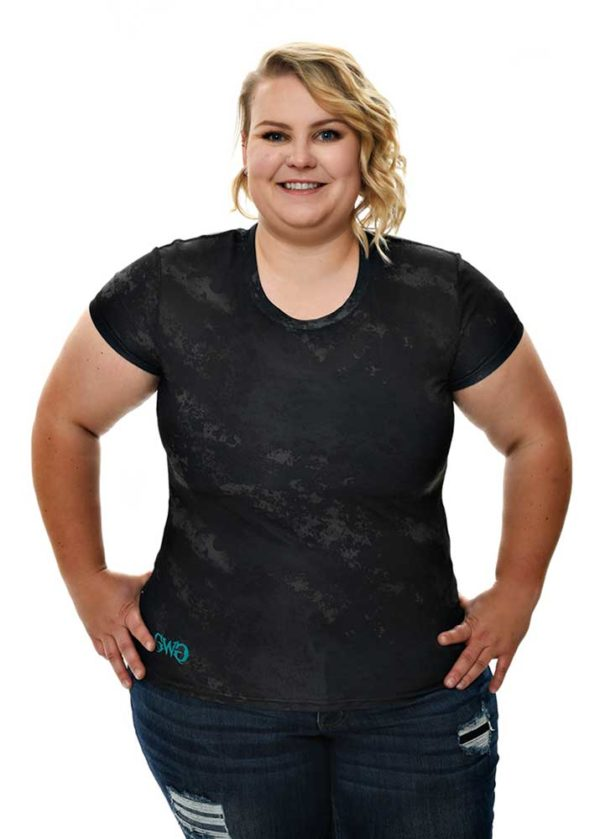 Hiding in the Shade Tee Plus Size - Blackout