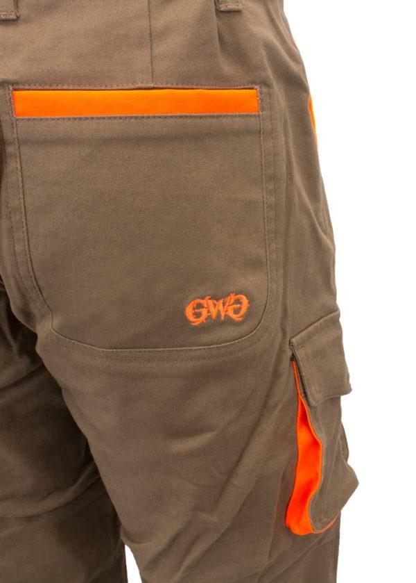 Highland Pants - Pocket Detail and GWG Logo
