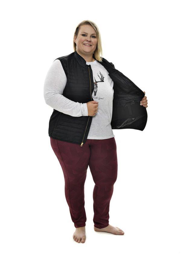 Primitive Puffer Vest Black - Conceal Carry