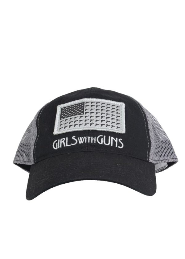 Gun Freedom Hat in Black by Girls with Guns