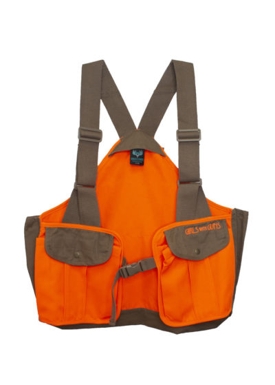 HIghland Vest for Upland Hunting by Girls with Guns
