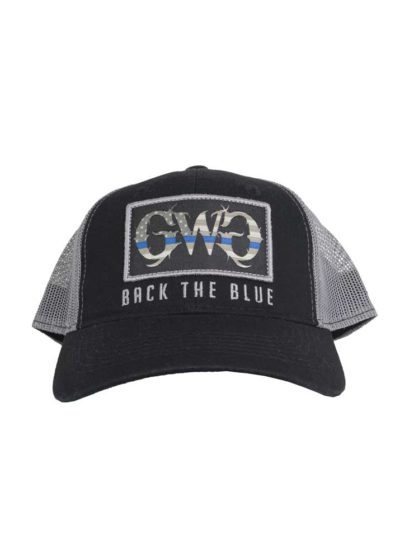 Back the Blue Hat by Girls with Guns