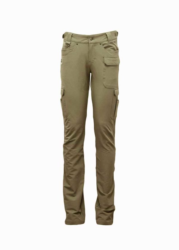 Carbine Pants in Khaki by Girls with Guns