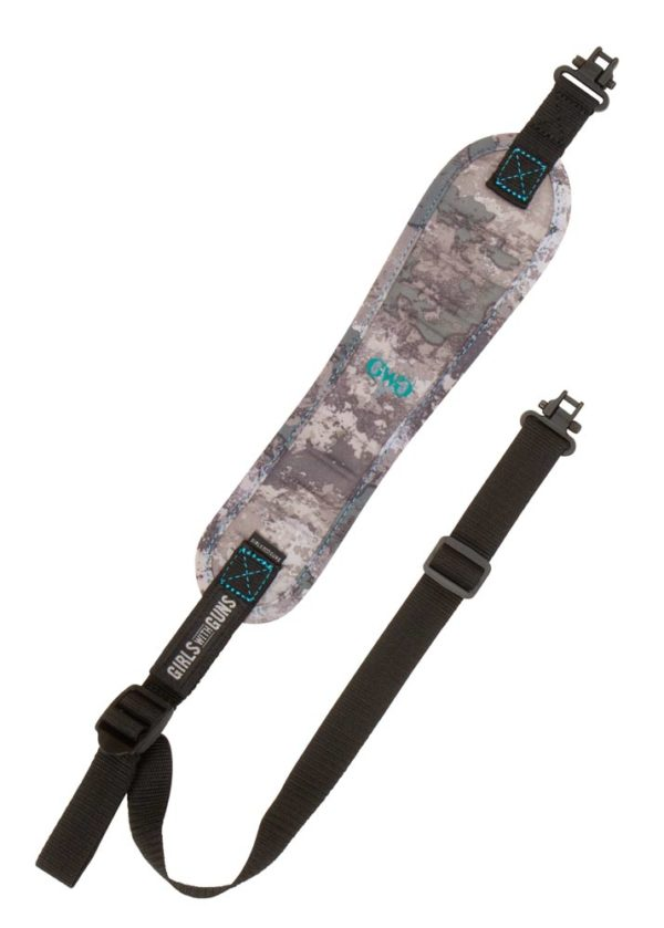 Highcountry Compact Rifle Sling by Girls with Guns in Shade Camo