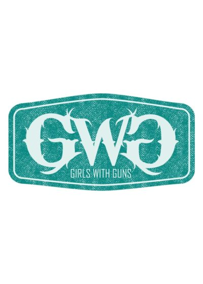 GWG Label Sticker - Teal