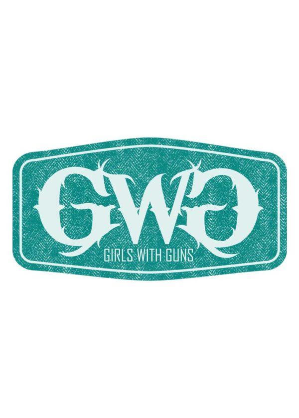 GWG Label Sticker - Teal