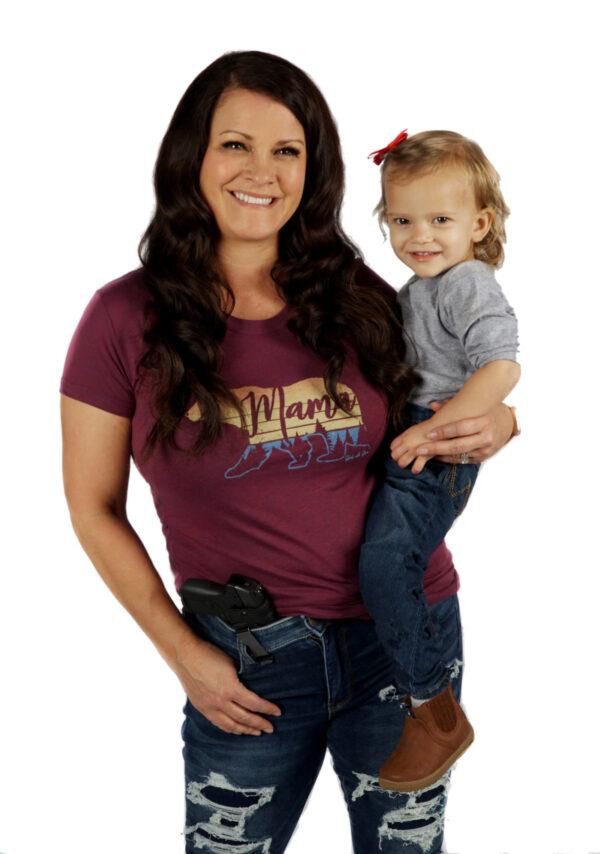 Mama Bear Tee - Jen and Olivia