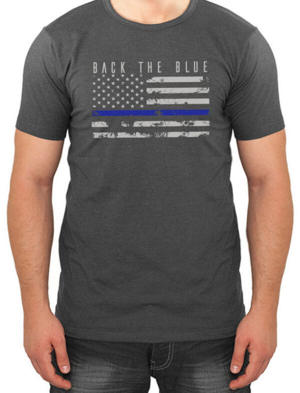 Back the Blue Men's Tee
