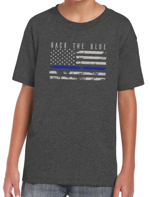 Back the Blue Youth Tee