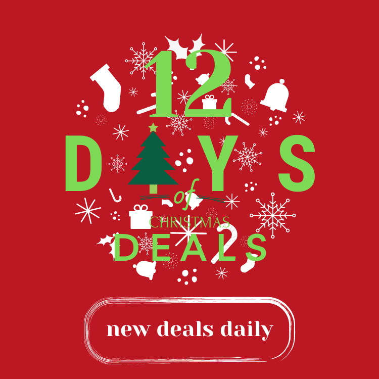 12 Days of Deals - Mobile Banner