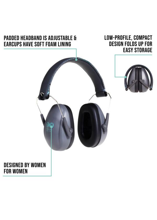Assure Low-Profile Earmuff-detail