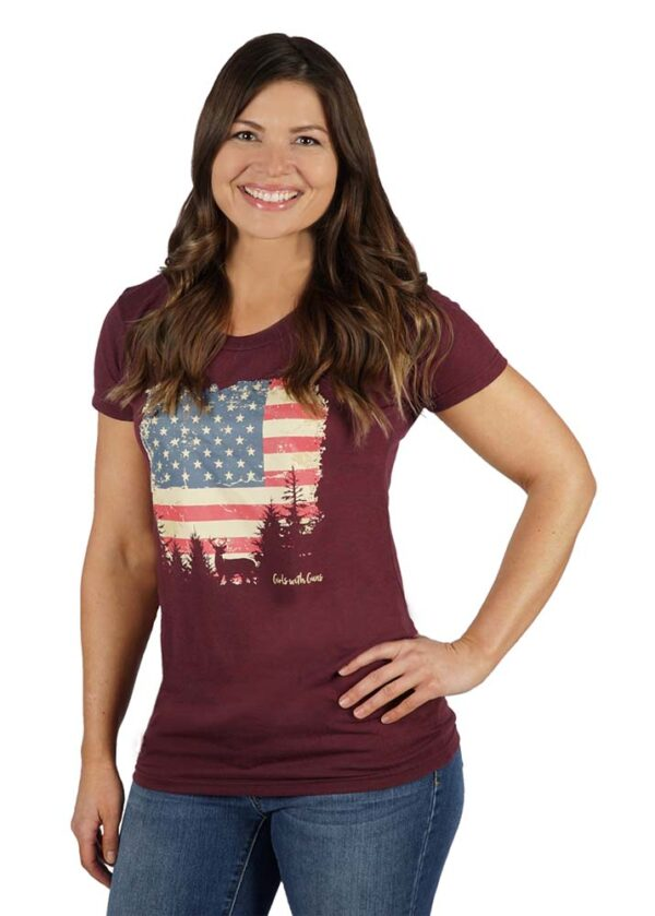 American Country Tee by GWG Clothing
