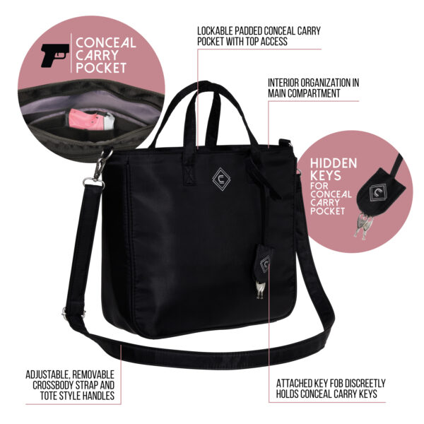 GWG Adventure Cross-Body Purse - Call Out Features
