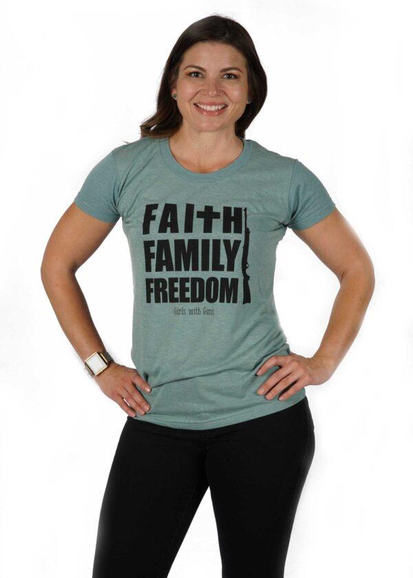 Faith Family Freedom Tee by GWG Clothing